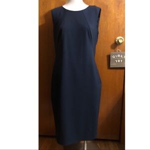 Hugo Boss Dallasa dress navy size 8